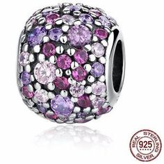 Cubic Zirconia Charm Bead (Compatible with Pandora) - €17.18