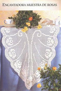 World crochet: Tablecloth 228