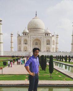 #mytajmemory by santosh01234 #IncredibleIndia #tajmahal