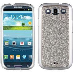 Glitter galaxy s3 phone case