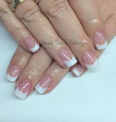 New french manicure designs sns 60 Ideas Gel Manicure Designs, Manicure Colors, Nail Manicure, Nail Colors, Manicure Ideas, Nail Ideas, Nail Designs, Nail Polish, New French Manicure