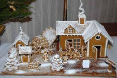 Diy Christmas Village, Christmas Cookies, Christmas Ornaments, Winter Christmas, Cookie Decorating, Projects To Try, Holiday Decor, Gingerbread Houses, Google