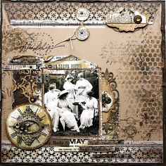 Friendship...a grungy, distressed background with stitched edging and gorgeous…