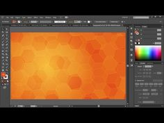 How to Create a Background in Adobe Illustrator | 1 - YouTube