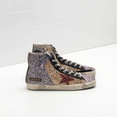 GGDB Femme 2017 | Golden Goose FRANCY Sneakers Flag LTD Pas Cher - Pas Cher  Sneakers