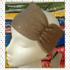 WONDERFUL HEADBAND TAUPE/METALLIC DOT Whether A Bad Hair Day Or Just ready to pop Your Look Grab Your New Neutal to Go With Any and EVERY COLOR HEAF BAND AND KEEP GOING Steve Madden Accessories Scarves & Wraps