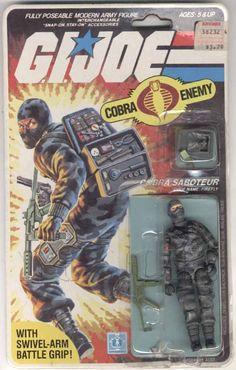 Firefly (v1) G.I. Joe Action Figure - YoJoe Archive