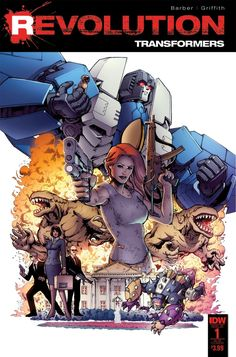 The Transformers: Revolution Issue #1 Three Page iTunes Preview