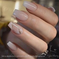 54 Beautiful and romantic nail art design ideas - mix-matched neutral nails, nud. - 54 Beautiful and romantic nail art design ideas – mix-matched neutral nails, nude nails ,nail acr - Gorgeous Nails, Pretty Nails, Perfect Nails, Coffin Nails Designs Summer, Acrylic Nails Designs Short, Acrylic Nail Designs Classy, Elegant Nail Designs, French Manicure Designs, Cute Nail Designs