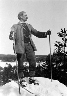 Akseli Gallen-Kallela was a Finnish painter who is best known for his illustrations of the Kalevala, the Finnish national epic. His work was considered very important for the Finnish national identity. He changed his name from Gallen to Gallen-Kallela in 1907.