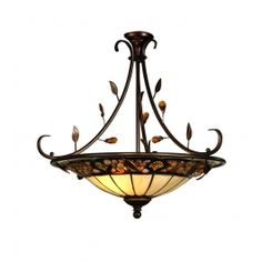 Dale Tiffany - TH90227 - Pebblestone Inverted Pendant $429.99 Lamps.com  #Inhabitatlamps
