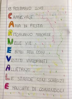 CARNEVALE | Blog di Maestra Mile Vintage School, Primary Education, Opening Day, Problem Solving, Pixel Art, Bullet Journal, Blog, Montessori, Alphabet