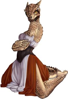 Lusty Argonian Maid Pinup 9 by weebitmuddled