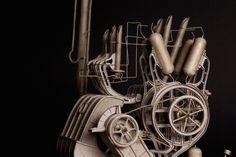 Les nouvelles Machines volantes steampunk de Daniel Agdag (5)