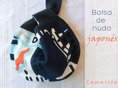 Lamarita DIY: Japanese knot bag. PATRÓN.