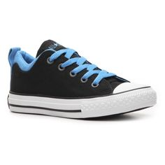 Converse All Star Boys Toddler & Youth Dual Collar Sneaker ($17) ❤ liked on Polyvore featuring baby, baby & toddler shoes, children and toddler
