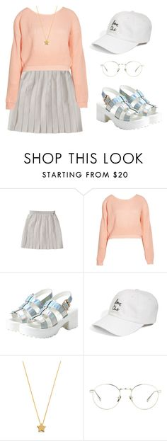 """Untitled #323"" by dias123 ❤ liked on Polyvore featuring Boohoo, The Style Club, Gorjana and Linda Farrow"