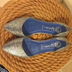 "Jeffrey Campbell sparkly jelly flats Silver sparkly jelly love flats. ""Confetti on the dance floor flat in silver"" by Jeffrey Campbell. Size 9. Jeffrey Campbell Shoes Flats & Loafers"