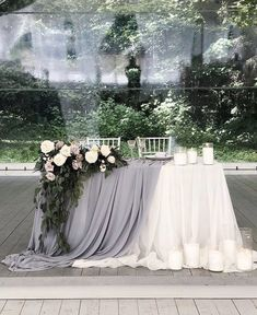Head Table Wedding, Bridal Table, Wedding Wishes, Our Wedding, Dream Wedding, Wedding Tent Decorations, Wedding Photo Inspiration, Marie, Wedding Flowers