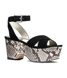 9b328fd5183e63 MICHAEL Michael Kors Ariel Ankle-Strap Platform Sandals