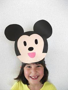 Preschool Crafts for Kids*: Mickey Mouse Headband Craft