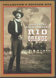 "November 15, 1950 - ""Rio Grande"" released to movie theaters across the country 60 years ago today.  ""But he must learn that a man's word to anything, even his own destruction, is his honor."" ~ Lt. Col. Kirby York / John Wayne (Rio Grande - 1950)"