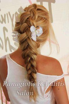 Hair by Panagiotis Keladitis  Διαβάστε τη συνέντευξη του μεγάλου δημιουργού στο:  http://issuu.com/hairnews/docs/04_2013_01/32