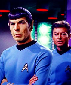 Star Trek ToS - Spock & Bones
