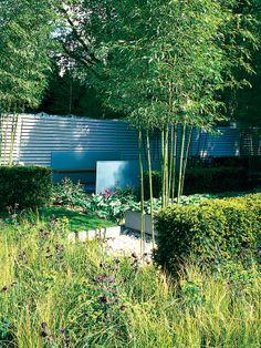 Formal Garden Formed Around Geometric Design
