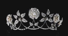 Antique diamond Tiara.