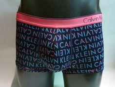 Boxer Calvin Klein Microfibra - Excelente comodidad y adaptabilidad, extraordinaria suavidad al tacto. Goma vista en rosa. http://www.varelaintimo.com/37-boxers  #underwear #menswear #calzoncillos #ropaHombre #ropaInterior