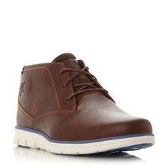 Timberland A11br white wedge sole chukka boots, Tan