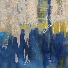 Abstrakte Malerei von Iris Rickart / Brandung / Unikatbild 175