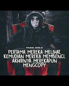 Quote Backgrounds, Wallpaper Quotes, Anime Motivational Quotes, Bad Quotes, Quotes Indonesia, Joker Quotes, Story Inspiration, Galaxy Wallpaper, Cool Art