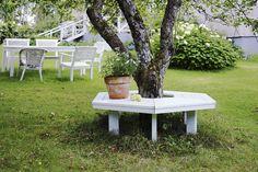 Tee itse penkki puun ympärille | Tee itse | suomela.fi
