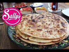 Katmer Ekmek / türkisches Brot aus der Pfanne / mit süßen und herzhaften Frühstücksideen - YouTube