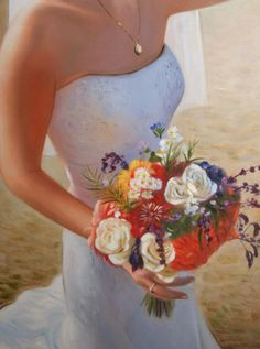 WeddingPortraits | WeddingPaintings | Bridal Portraits....... #weddinportraits #paint #painting #paintyourlife