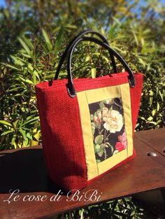 Shades Of Red, Black Fabric, Black Backgrounds, Bag Making, Black Leather, Rose, Handmade, Bags, Goblin