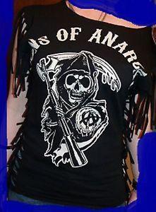 soa women's clothing | Sons of Anarchy SAMCRO SOA JAX Teller Clay Morrow Sons of Anarchy ...