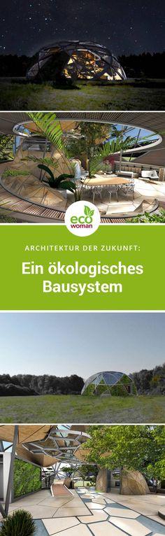 Die Gesellschaft ist im Wandel. Mensch und Natur sind gezwungen sich dem Klimawandel anzupassen. Der Architekt Joshua Miccoli hat sich mit seinem eXo/nat Projekt den aktuellen Herausforderungen unserer Zeit gestellt und ein funktionierendes ökologisches Bausystem entwickelt. #gruenearchitektur #nachhaltigleben #oekologisch #architektur #bausystem #nachhaltigearchitektur #zukunft