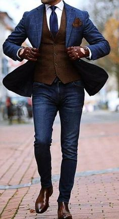 The Best Street Style Inspiration & More Details That Make the Difference - Mens Fashion - Winter Mode Stylish Men, Men Casual, Casual Suit, Dress Casual, Hijab Casual, Casual Dressy, Casual Styles, Casual Attire, Groom Attire
