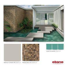 Espelho d'água Eliane Revestimentos #revestimento #piso #azulejo #tile