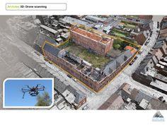 3D Fotometrische scan met drone  www.bertbuytaert.be