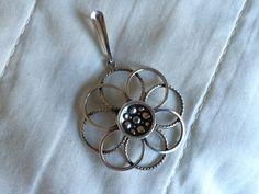 Silver pendant, Norway, Unhjem.