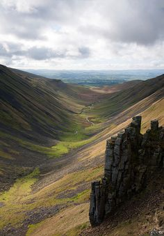 High Cup Gill, Cumbria, ENG -  Cumbria was Border Reiver country.   Hetherington and Carleton were two of the most prominent Reiver families in the Cumbria area.