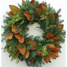 Fresh Holiday Wreath