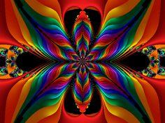 Colors + fractals #fractals #fractalart #art                                                                                                                                                      Más