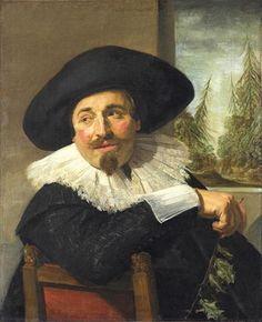 Frans HALS, Isaac Abraham Massa, 1626, Toronto