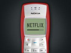 Netflix for Nokia 1100 / Carla Corrales