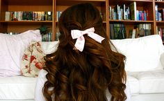 Color and curls, and BOW!